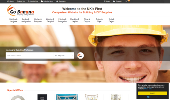 Uk S First Comparison Site For Diy Amp Building Supplies
